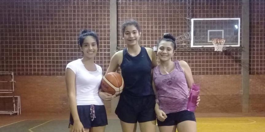 Obereñas participaron de entrenamientos de la Preselección de Básquetbol