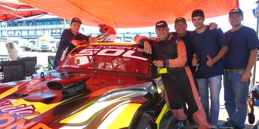 Gran experiencia en Chaco para el Cabral Racing