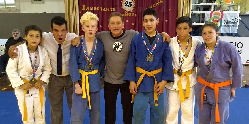 Judocas obereños competirán en los Juegos Evita
