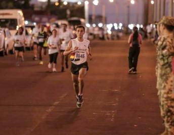 Da Silva se ubicó 2° en los 10K del Media Maratón