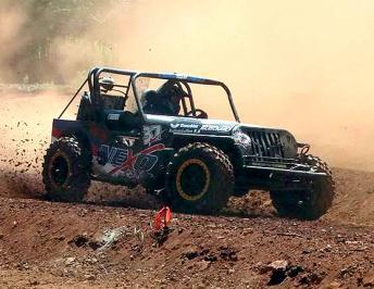 Tito Cassini se consagró campeón en el Jeep Cross
