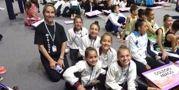 Gran participación de obereñas en el Panamericano de Gimnasia Rítmica