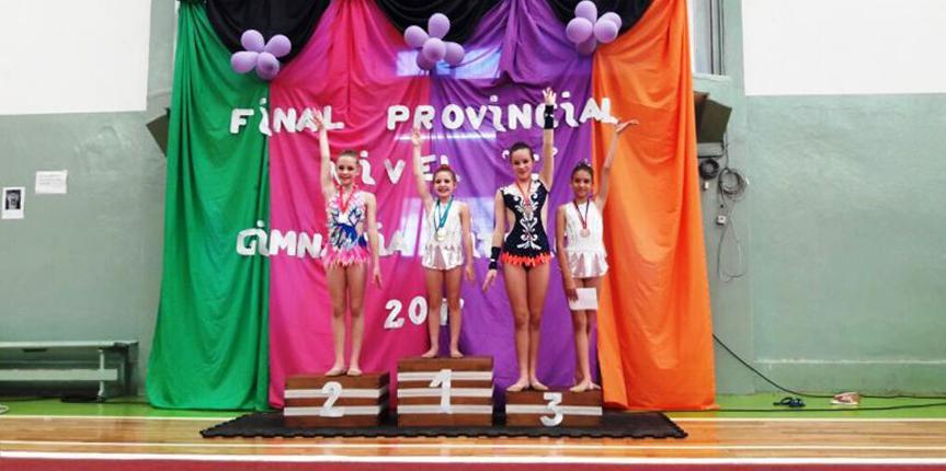 Gimnastas obereñas campeonas provinciales