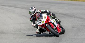 Domingo de giros libres de motos en el Autodromo de Oberá