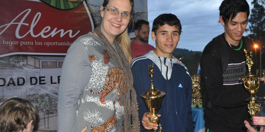 La prueba de 6 Km en Alem fue para Agustín