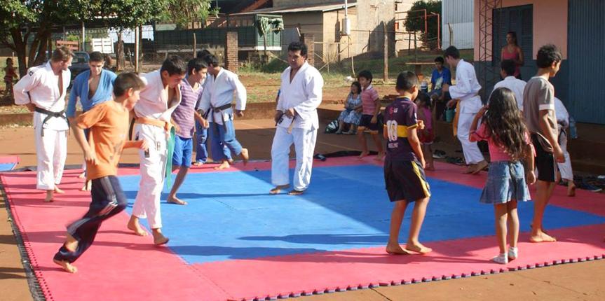 El Judo Comunitario celebra sus 25 años
