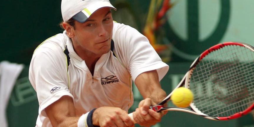 El obereño que le hizo transpirar a Federer