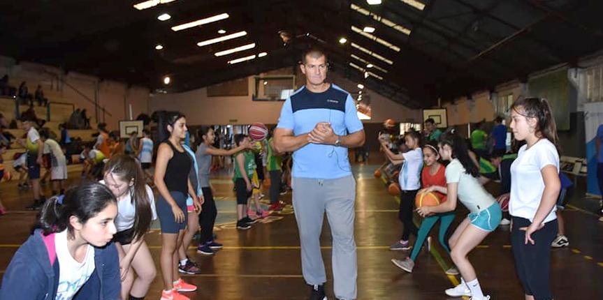 Las chicas de Tierra del Fuego participaron del Campus que brindo Wolkowyski