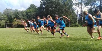 Las damas tendrán fútbol en Campo Viera