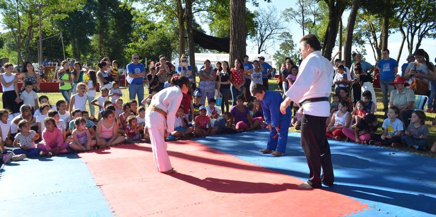 Comienzan las actividades del Judo Comunitario