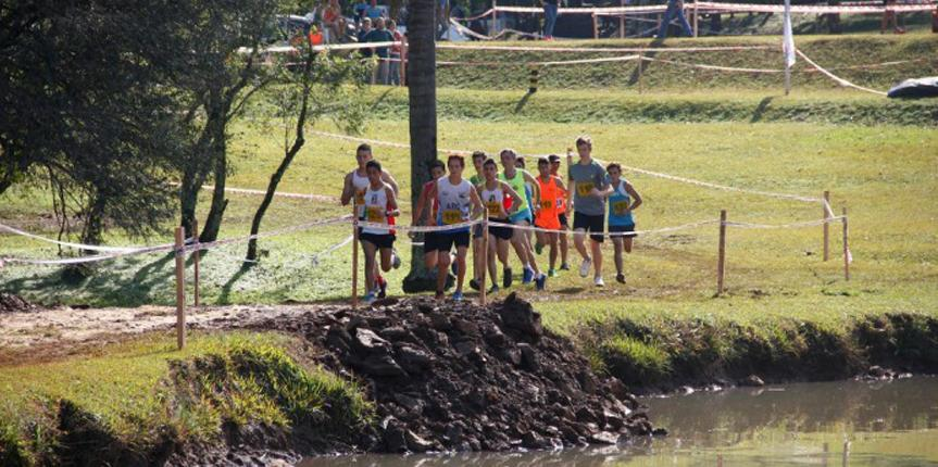 Agustín se destacó en el Cross Country