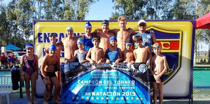 OTC cerró una gran temporada de natación
