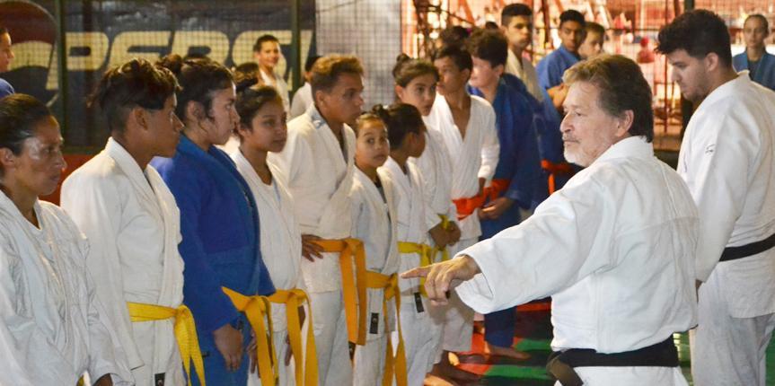 Se llevo a cabo el cierre anual de actividades del Judo Comunitario